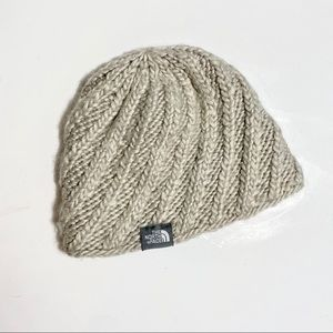 The North Face | Knit Cable Beanie Cream